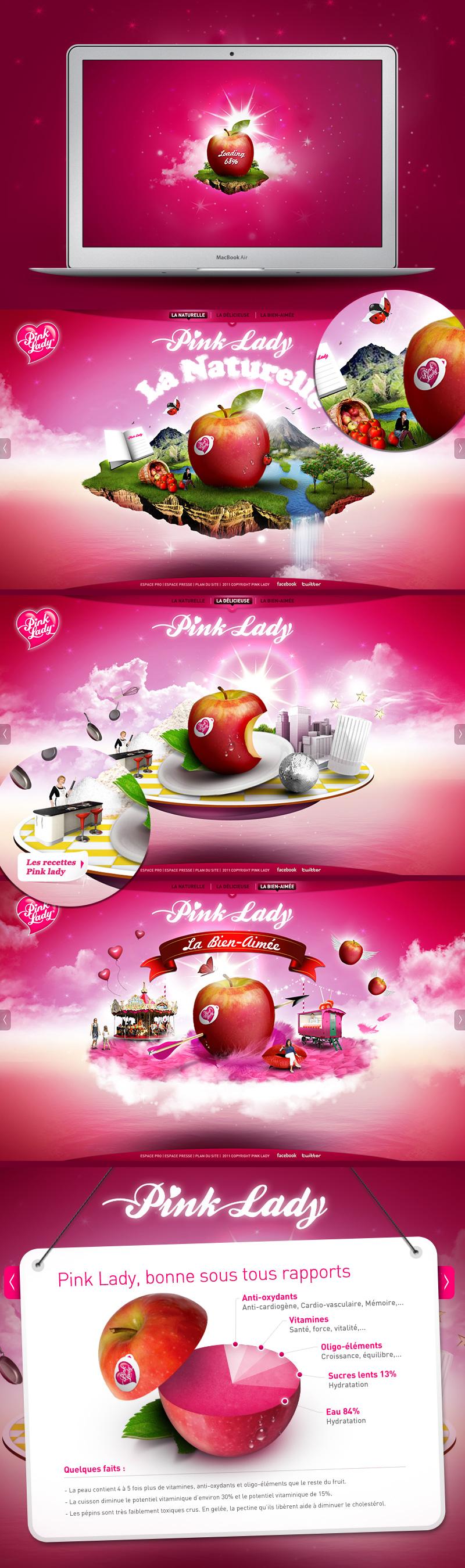 Directeur artistique freelance Portfolio Paris - Pink Lady