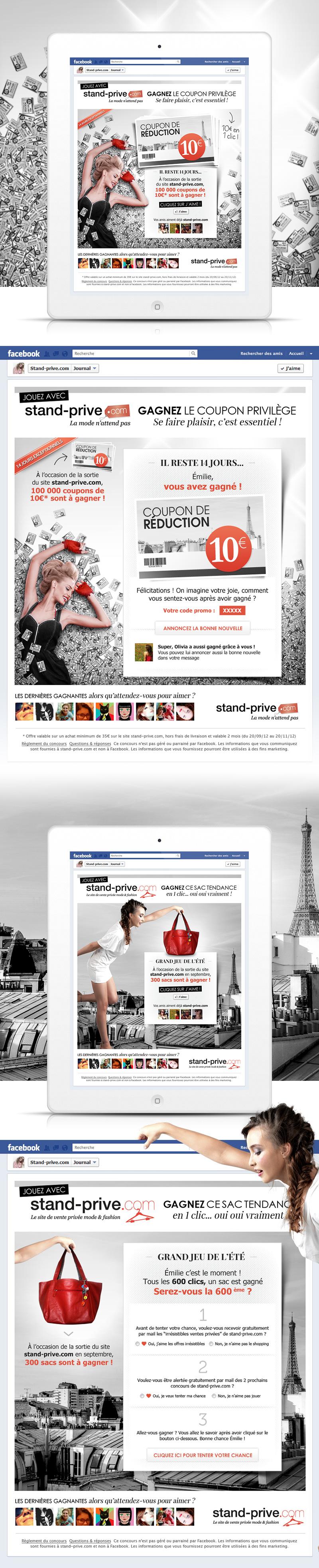 Directeur artistique freelance Portfolio Paris - Stand Privé
