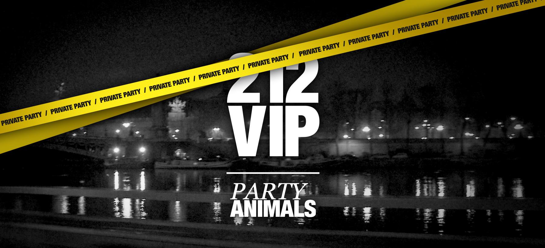 Directeur artistique freelance Portfolio Paris - 212 VIP