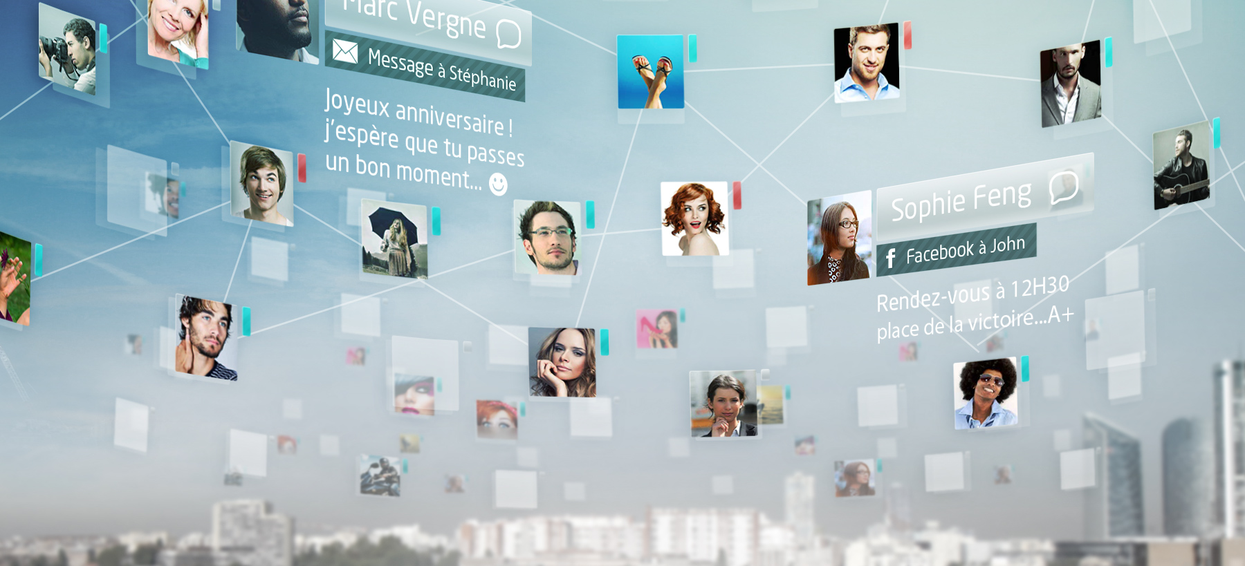 Directeur artistique freelance Portfolio Paris - BNP Change it