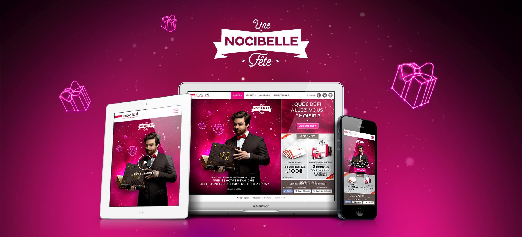 Directeur artistique freelance Portfolio Paris - Nocibé