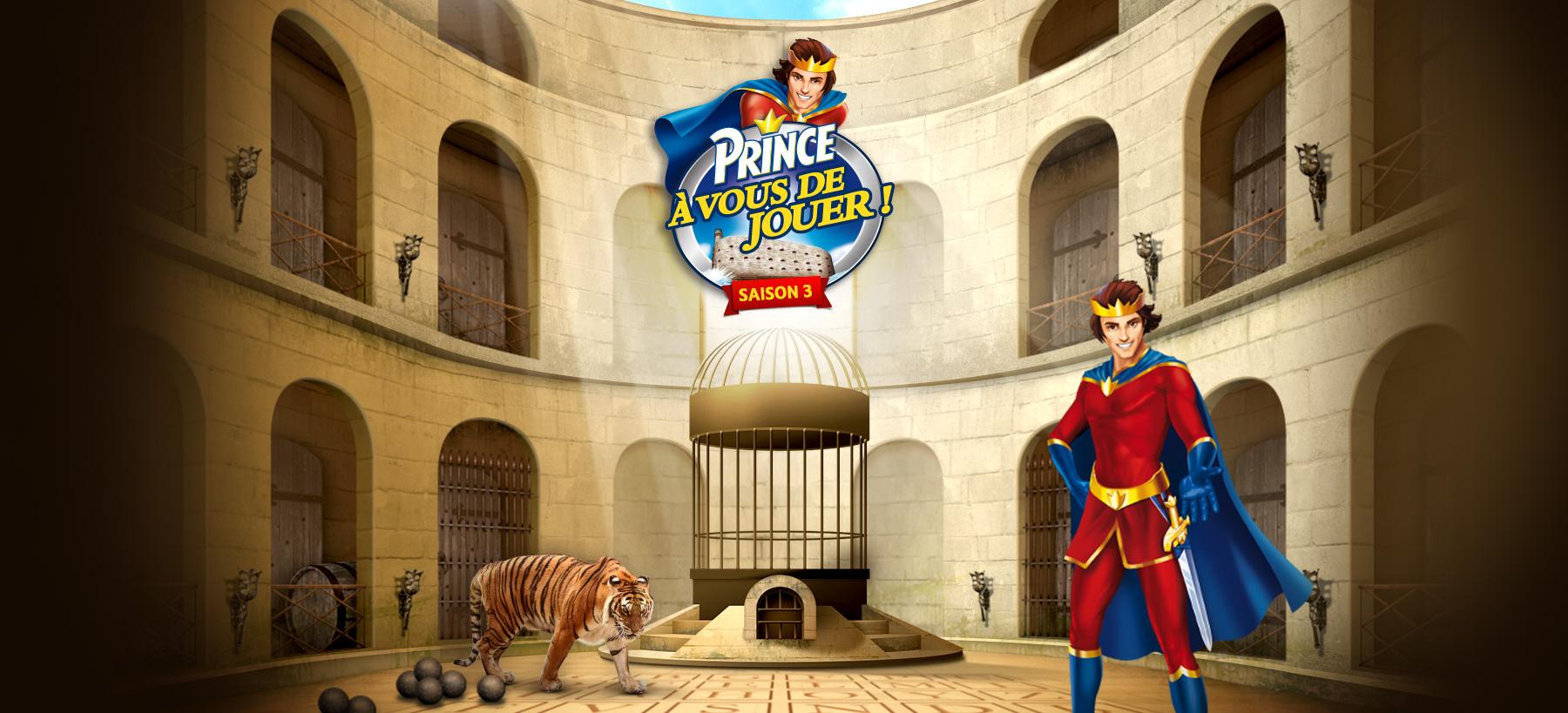 Directeur artistique freelance Portfolio Paris - Prince Fort Boyard