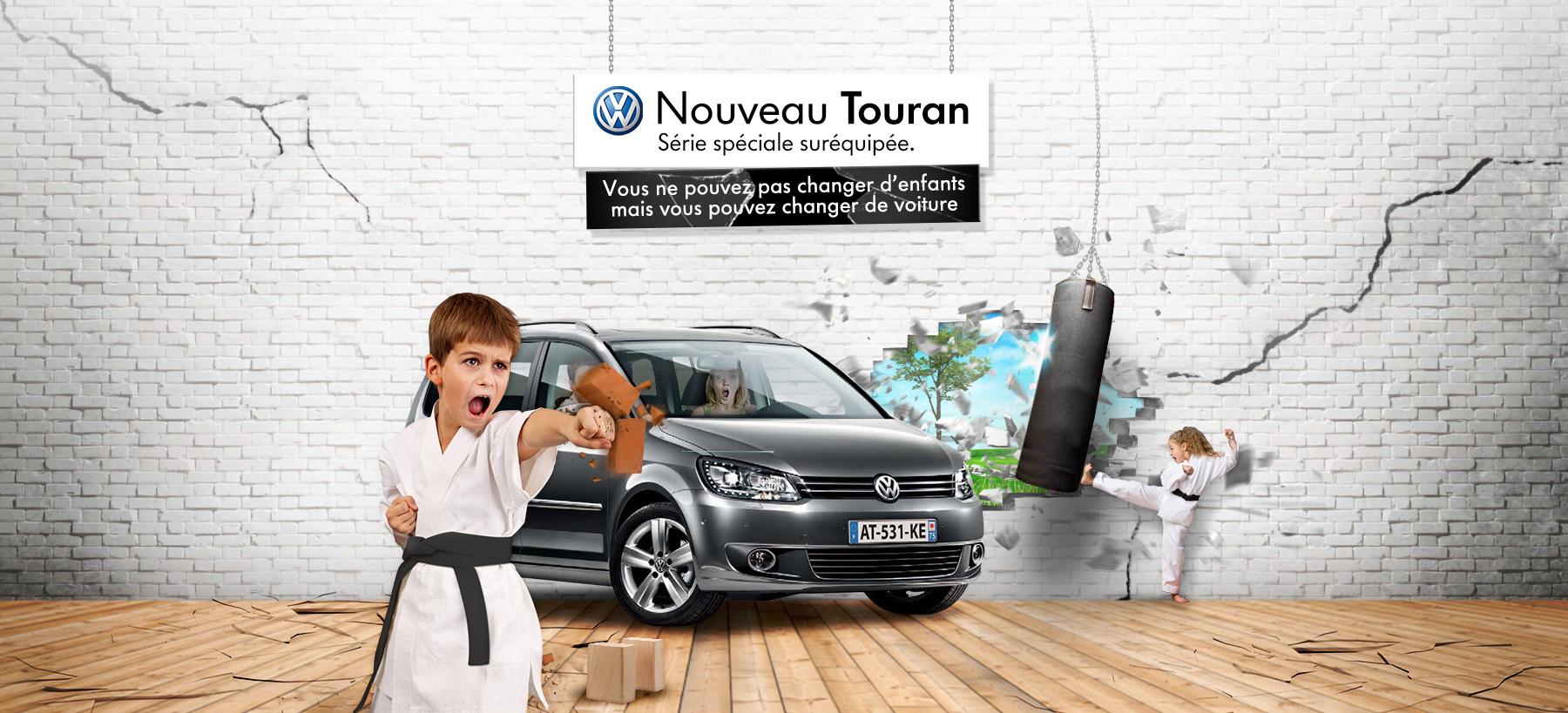 Directeur artistique freelance Portfolio Paris - Volkswagen Touran