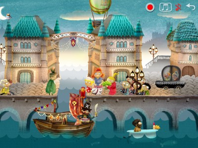 Les applis Ipad Fox and Sheep