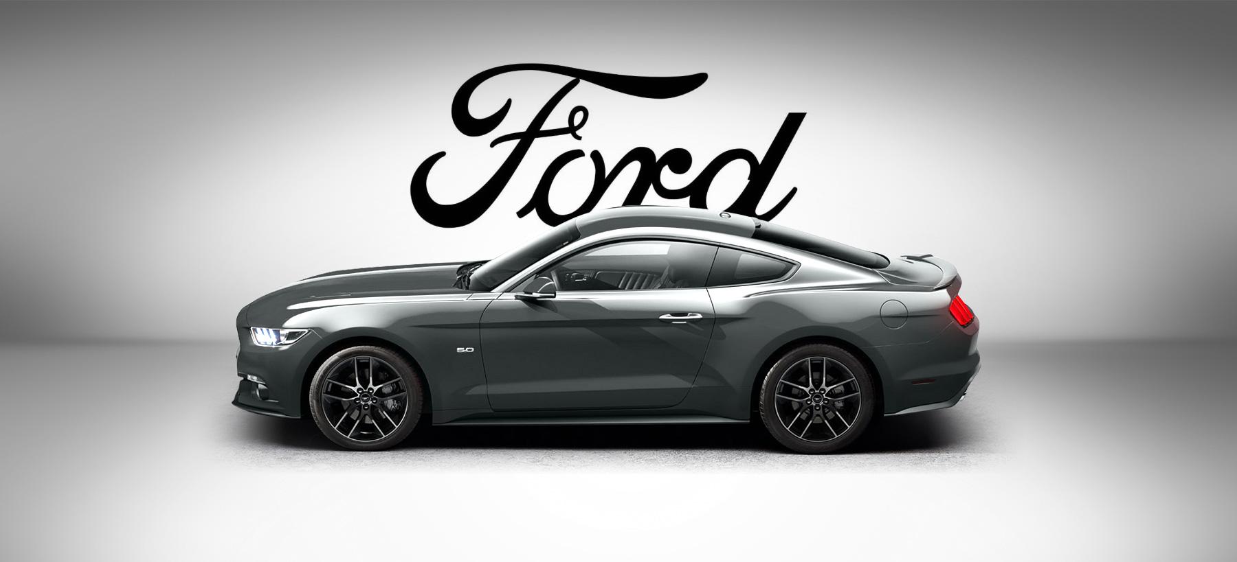 Directeur artistique freelance - Ford Mustang - Bannière publicitaire