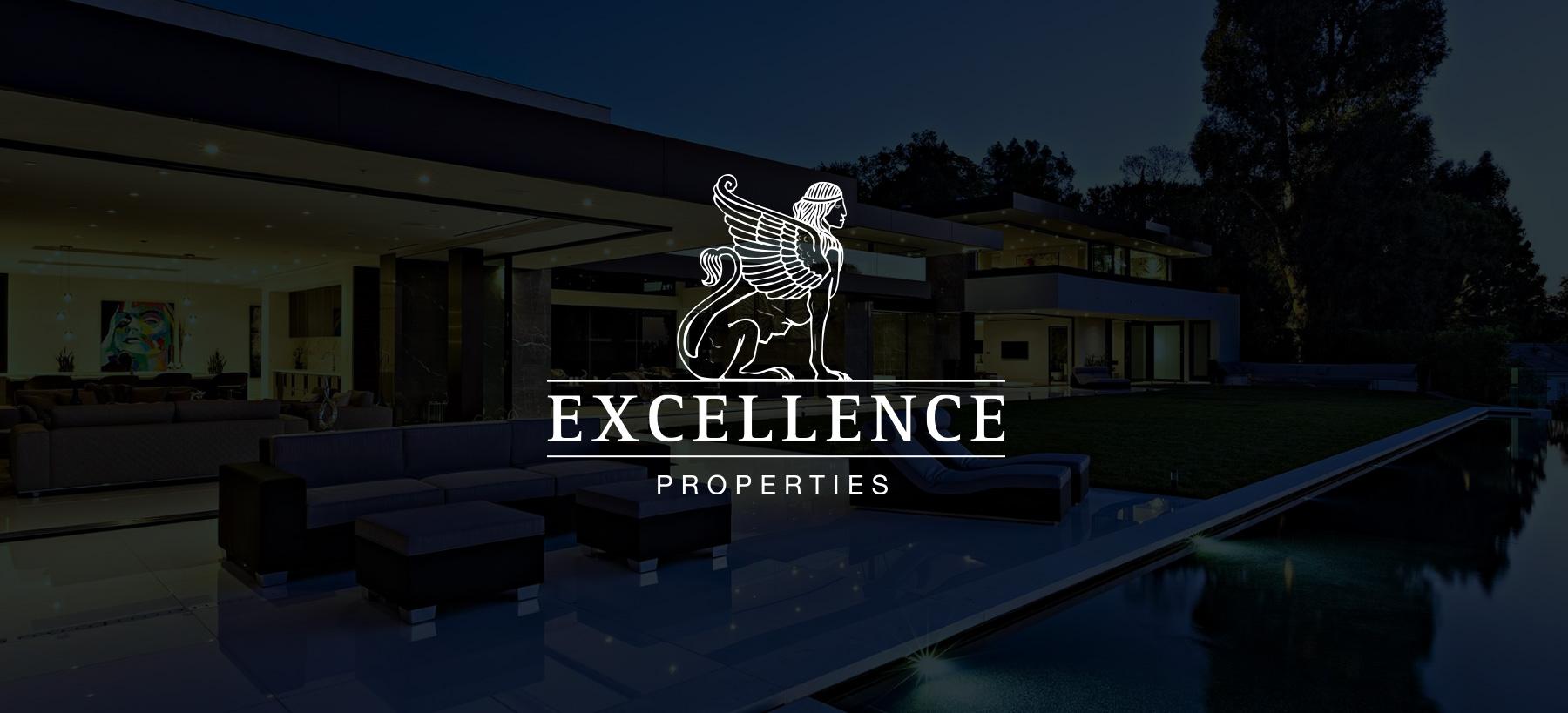 Directeur artistique freelance - Excellence properties - Identité graphique