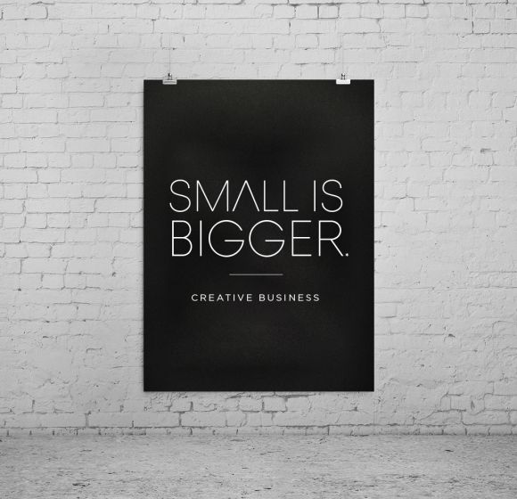 SMALL IS BIGGER